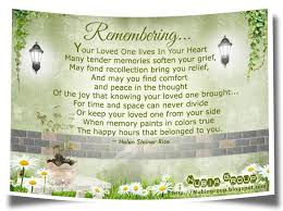 In Memory Of Loved Ones Quotes Magnificent Memories Of Loved Ones Quotes