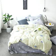 yellow and grey duvet cover set s cotton duvet cover set queen king size yellow cloud