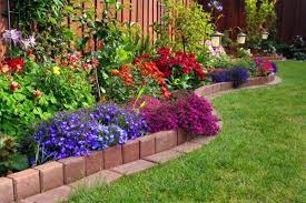 37 creative lawn garden edging ideas