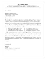 Government Job Cover Letter Examples Top Writing A Cover Letter For