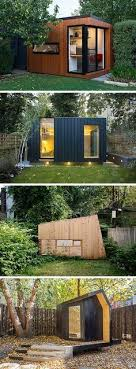 subterranean space garden backyard huts cabins sheds. Shed Plans - Here Are 14 Examples Of Modern Backyard Home Offices, Art Studios, Gyms, And Hideouts That Take Sheds To A Whole New Level. Subterranean Space Garden Huts Cabins S