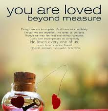 Quotes About Being Loved Impressive God Loves Us Completely Quote Picture
