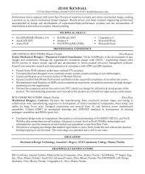 Medical Design Engineer Sample Resume 0 13 For Samples Mechanical ...