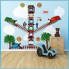 Thomas The Train Growth Chart Thomas And Friends Wall Decor Home Decorating Ideas