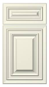 florence door style painted antique white kitchen cabinets