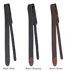 genuine fender 2 custom hq leather guitar strap