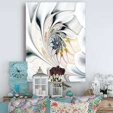 Wall paintings for office Creative White Stained Glass Floral Art Large Floral Wall Art Canvas Priligyhowtocom Art Gallery Shop Our Best Home Goods Deals Online At Overstockcom