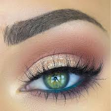 green eyeliner in water line feel beautiful with customized skincare by roseandabbot eyemakeup for