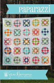 Paparazzi Quilt Pattern by Frecklemama Chris Warnick Fat Quarter ... & Paparazzi Quilt Pattern by Frecklemama Chris Warnick Fat Quarter Friendly  Quilt Pattern Baby and Lap Quilt Adamdwight.com