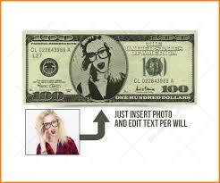 Design Your Own Dollar Bill Template 025 Editable Money Template Dollar Bill Mockup Psd With