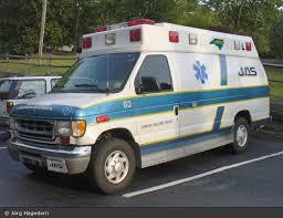 Johnston Ambulance Service Einsatzfahrzeug Durham Johnston Ambulance Service Ambulance 63