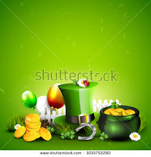 template of a leprechaun st patricks day template leprechauns hat stock vector 1015752280