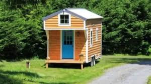 144 Square Feet 144 Sq Ft Diy Blue Door Tiny House On Wheels Youtube