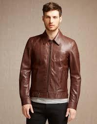 leather er jackets belstaff ryde jacket oak brown