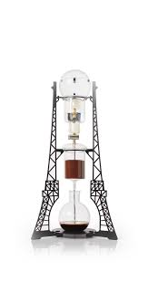 eiffel tower bathroom decor  landmark brew eiffel tower shaped slow drip coffee maker