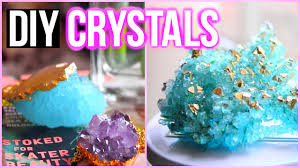 Science Bedroom Decor Diy Crystals At Home Tumblr Inspired Room Decor Youtube