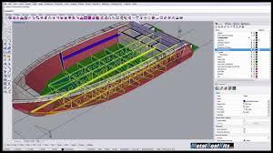 Rhino Boat Design Software Rhino Tutorial Designing Boats With Rhino 02 Deck Slots