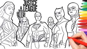 Jimmy olsen, photographer of the daily planet. Justice League Coloring Pages How To Draw Batman Superman Wonder Woman Flash Aquaman Superheroes Youtube