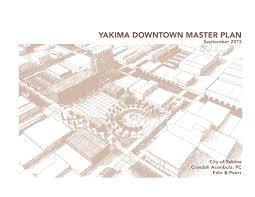 Downtown Revitalization Plan Yakima Washington By
