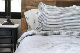 ticking stripe duvet cover