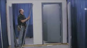 Decorating commercial door installation photographs : Mesker Knock Down Frame - YouTube