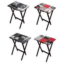 Decorative Tv Tray Tables Folding TV Trays You'll Love Wayfair 94