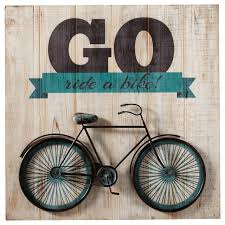 go ride a bike bicycle wall art  on bike wall artwork with go ride a bike bicycle wall art contemporary kids toys and