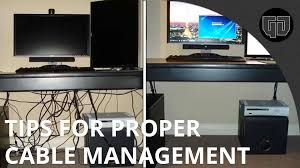 computer desk with wire management tips for cable management you photo details these image we d like to provide