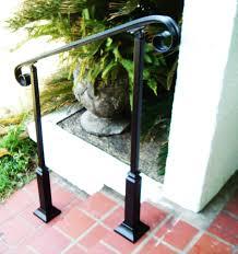 Wrought Iron Handrails 3ft Wrought Iron Handrail Step Rail Stair Rail With Decorative
