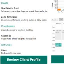 In Crowdfit Planners Schedule Exercise Activities Following Expert