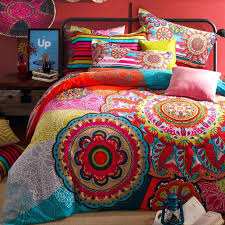 dodgers bedding style comforters bohemian bedding sets mandala print duvet cover purple king bedroom with dodgers bedding