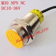 popular limit switch wiring buy cheap limit switch wiring lots retail position limit switch 10mm detection proximity switch m30 metal sensor npn normally