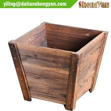 Decorative Planter Boxes Wooden Design Garden Flower Pot Wholesale Flower Pot Suppliers 73