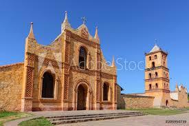 photo art print jesuit mission church in san jose de chiquitos bolivia europosters