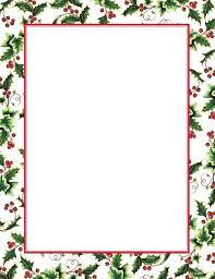 Christmas Letterhead Template Christmas Letterhead Template Free Christmas Letter Borders