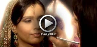 checkout this indian bridal makeup video tutorial
