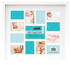 baby collage frame mcs 12 month baby collage frame amazon ca home kitchen