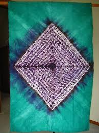 west african tie dye
