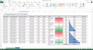 Forms Templates Excel Change Request Form Templates Ms Excel Word Software Testing