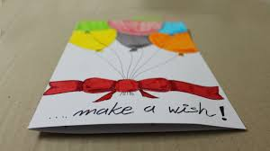 How To Make A Birthday Card With White Paper Handmade Cards