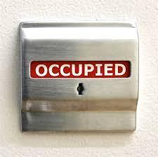 occupied bathroom sign. Occupied Bathroom Sign With Remarkable U