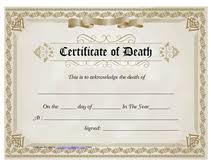 Make Certificates Online Free Printable Blank Certificate Of Death