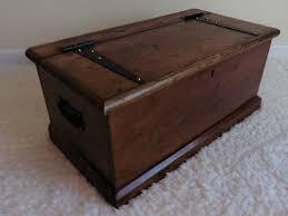 pine storage blanket box chest or