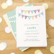 Personalised Baby Shower Invitations By Made By Ellis