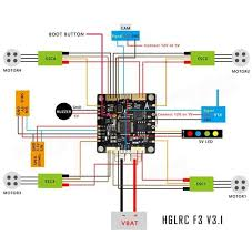 fpv racing drone [tight build for dummies] 12 steps (with pictures) FPV Wiring-Diagram Naza M picture of receiver video transmitter fpv cam part 1