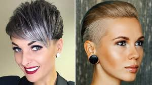 Modern Short Short Haircuts For Women 2018 2019 Haircuts For Short