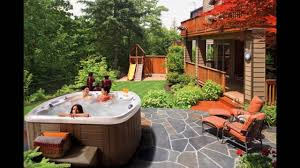 above ground pool with deck and hot tub. Above Ground Pool And Hot Tub Deck Ideas With U