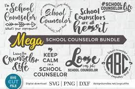 Almost files can be used for commercial. School Counselor Svg Bundle School Psychologist Svg Bundle 422216 Cut Files Design Bundles