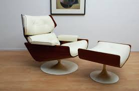 mid century lounge chair and ottoman image of mid century modern lounge chair and a half