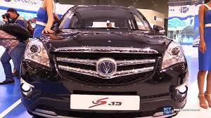 2016 changan cs 35 blue core exterior and interior walkaround 2016 moscow automobile salon you